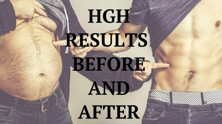 Results of HGH therapy on human body