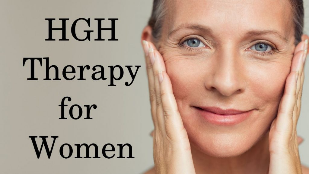 Growth hormone therapy for adult women