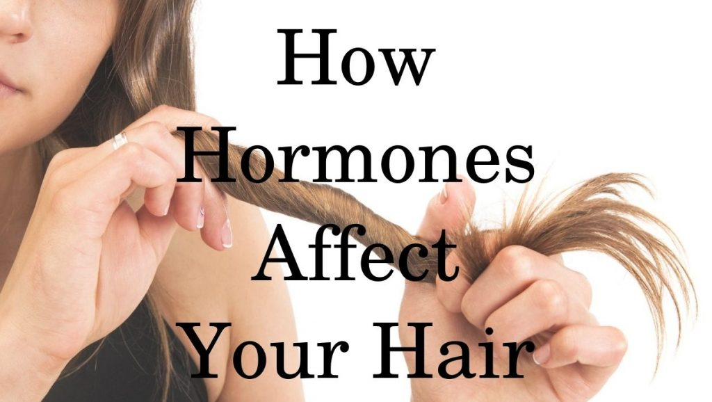 Hormones effects on hair health