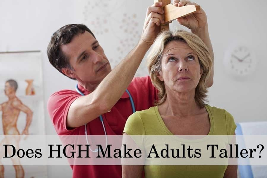 Does HGH make adults taller?